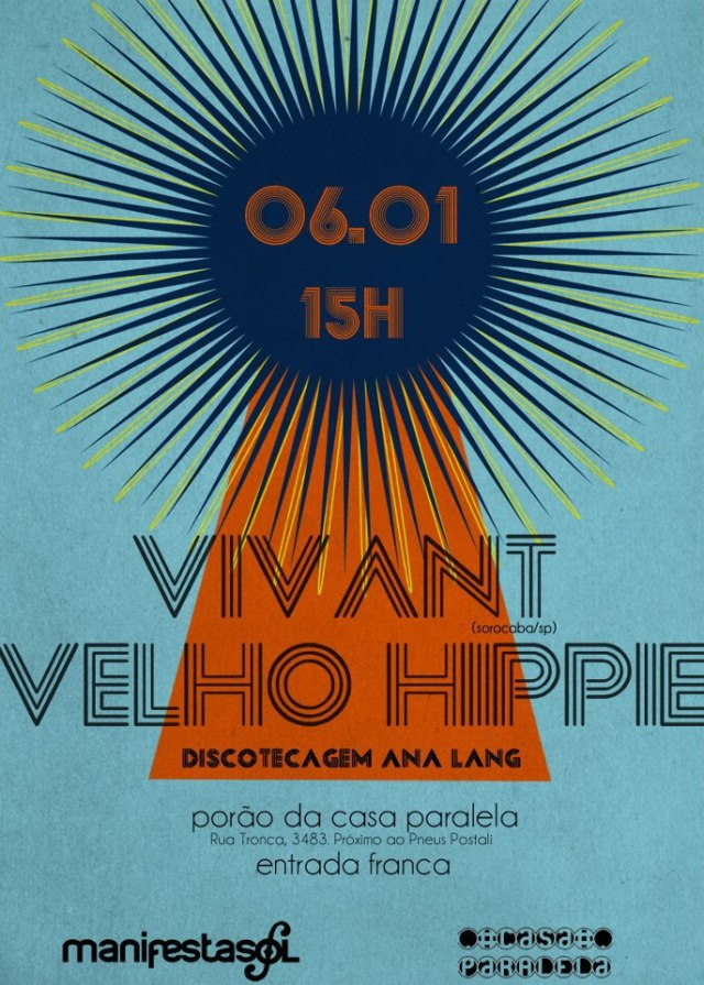 Velho Hippie e Vivant